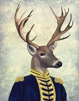 Captain Deer Fine-Art Print