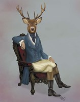 Distinguished Deer Full Fine-Art Print