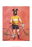 Greyhound Cyclist Fine-Art Print