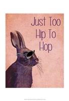 Too Hip To Hop Pink Fine-Art Print