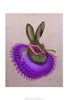 Mardi Gras Hare Fine-Art Print