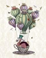 Dodo Balloon with Dragonflies Fine-Art Print