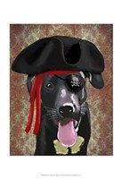 Black Labrador Pirate Dog Fine-Art Print