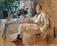 Portrait of the Singer Fyodor Chaliapin Fine-Art Print