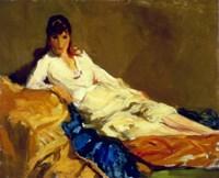 Marjorie Reclining, 1918 Fine-Art Print