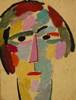 Mystic head: Anika, 1917 Fine-Art Print