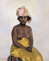 The African Woman, 1910 Fine-Art Print