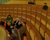 The Third Gallery at the Theatre du Chatelet, 1895 Fine-Art Print