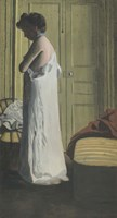 Woman Removing her Chemise, c. 1900 Fine-Art Print