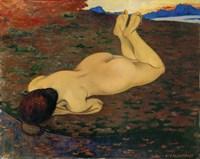 Woman Relaxing, 1899 Fine-Art Print