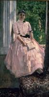 Portrait of Mrs Ljubatovic Fine-Art Print
