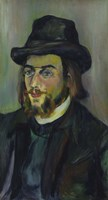 Portrait of Erik Satie (1866-1925), 1892-93 Fine-Art Print