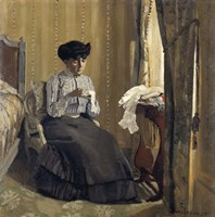 Woman Sewing, 1905 Fine-Art Print