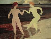 Mistress and Servant, 1896 Fine-Art Print