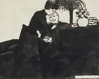 The Explanation, c. 1897 Fine-Art Print