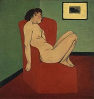 Woman Seated in an Armchair Fine-Art Print