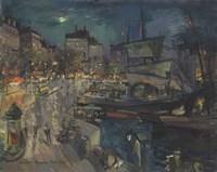 The Harbor of Marseille, 1929 Fine-Art Print