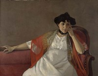 Portrait of the Artist's Wife, 1905 Fine-Art Print