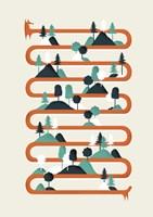 Foxy Stripes Fine-Art Print