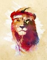 Gym Lion Fine-Art Print