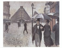 Paris - A Rainy Day, 1877 Fine-Art Print