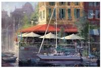 Dockside Cafe Fine-Art Print