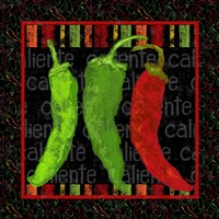 Spicy Peppers I Fine-Art Print