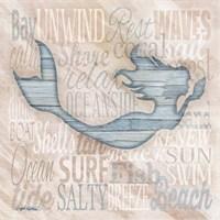 Driftwood Beach Icons I Fine-Art Print