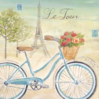 Paris Bike Tour I Fine-Art Print