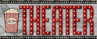 Movie Marquee Panel II (Theater) Fine-Art Print