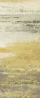 Siena Abstract Yellow Gray Panel I Fine-Art Print