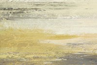 Siena Abstract Yellow Gray Landscape Fine-Art Print