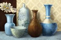Soft Blue Vase Fine-Art Print