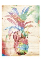 Colorful Pineapple Fine-Art Print