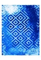 Bright Blue Patterns Fine-Art Print