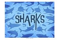 Sharks Two Fine-Art Print