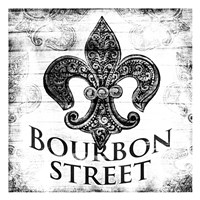 Bourbon Street BW Fine-Art Print