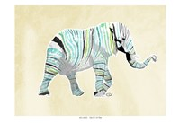 Elephant Multi Fine-Art Print