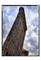 Flatiron NYC Painted Border Fine-Art Print