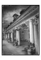 Hotel BW with Border Fine-Art Print