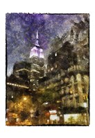 Manhattan Painted Fine-Art Print