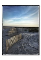Sand Fence With Border Fine-Art Print