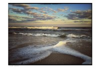 Lines And Waves With Border Fine-Art Print