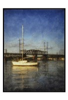 Sailboat Painted With Border Fine-Art Print