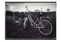Bike BW With Border Fine-Art Print