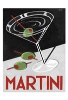 Retro Martini Time Fine-Art Print