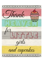 Little Girls And Cupcakes Fine-Art Print