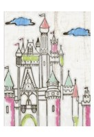 Sketch Castle II Fine-Art Print