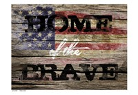Home Of The Brave 2 Fine-Art Print