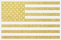 Gold Flag 3 Fine-Art Print